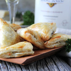 Mushroom, Herb & Gruyere Cheese Mini Turnovers