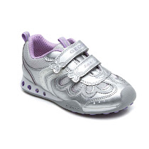 Geox Metallic Light Up Trainer TRAINER