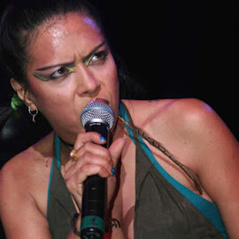 Annabella Lwin by Dan Hogle - People Musicians & Entertainers