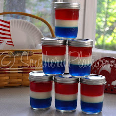 Patriotic Jello Jars
