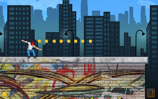 Screenshot of Skate Parkour Mania Free