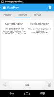 Screenshot of iFont(Expert of Fonts)