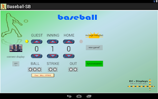 Screenshot of Baseball - Scoreboard