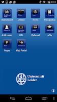 Screenshot of Leiden Univ