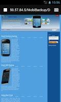 Screenshot of Smart SMS Backup