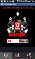 Screenshot of Call Blocking Blacklist