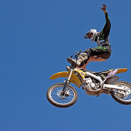 Freestyle Competition by Dirk Luus - Sports & Fitness Motorsports ( motocross, motorbike, tricks, motorcycle, freestyle )