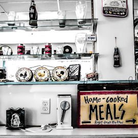 Inside a Soda shop by Greg Sommer - Artistic Objects Business Objects ( 2009 june 8 )