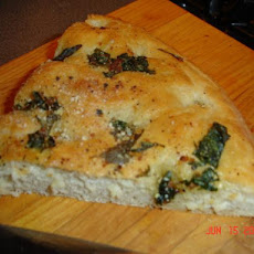 Focaccia Bread With Three Topping Choices