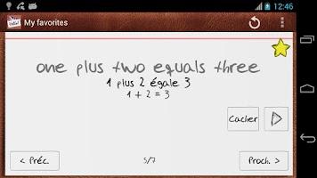Screenshot of Apprenez l'Anglais