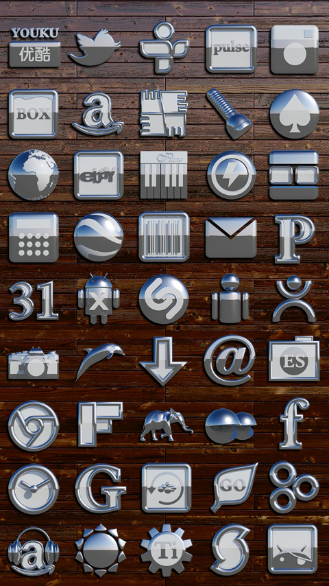 OSLO Smart Launcher Theme Screenshot 3