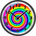 Psychedelic Clock icon