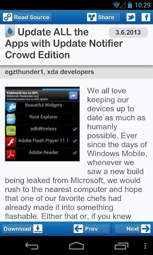 apps-updates-for-htc-evo-3d for android screenshot