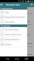 Screenshot of EnergieCheck co2online