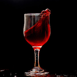 Wine Splash by Sarath Sankar - Food & Drink Fruits & Vegetables