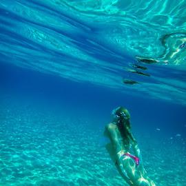 Proaras beach by John Myrianthousis - Landscapes Underwater