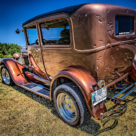 Pretty Boy Floyd's Car by Ron Meyers - Transportation Automobiles