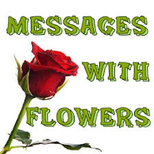 Messages with flowers
