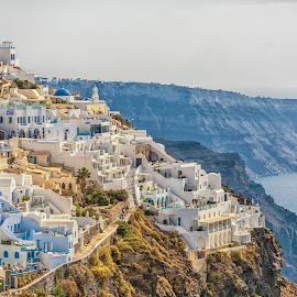 Beautiful Santorini by Ronald Susaya - Landscapes Travel ( sunsets, greek isles, caldera, cyclades, samtorini,  )