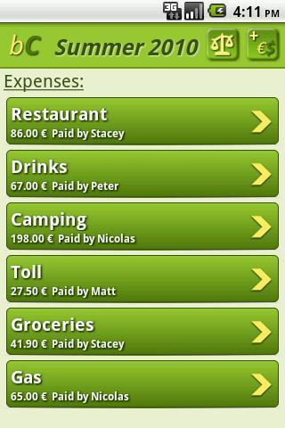 buddyCount-Expenses Management