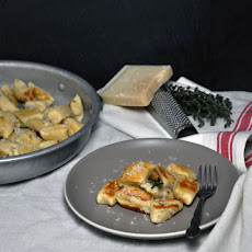 Black Pepper and Parmesan Ricotta Gnocchi