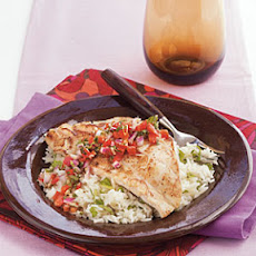 Pan-Seared Grouper with Sweet Ginger Relish