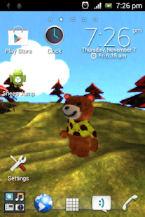Mini Maci! 3D Live Wallpaper - screenshot