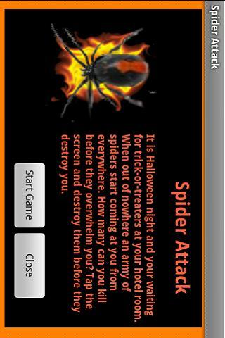 Spider Attack - Halloween