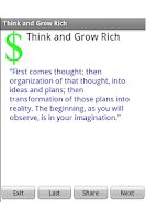 Screenshot of Think and Grow Rich