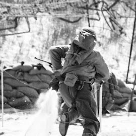 D Day by Dale Pausinga - Sports & Fitness Other Sports ( reenactment, solder, d-day,  )