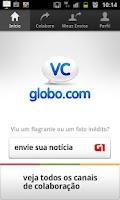 Screenshot of VC Globo.com