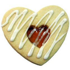 Easy Valentine Sandwich Biscuits