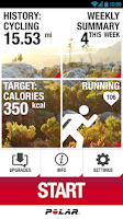 Screenshot of Polar Beat - Fitness Coach