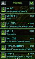 Screenshot of ALIEN X GO SMS Pro