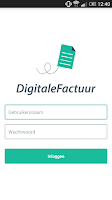 Screenshot of DigitaleFactuur - Phone App