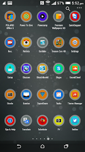 NNC Flat Round Icon Pack - screenshot