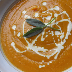 Root Vegetable Soup with Honey and Sage