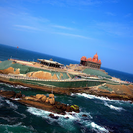 Vivekananda Rock Memorial by Vaibhav Mupadi - Buildings & Architecture Statues & Monuments ( history, memorial, vivekananda, peace, kanyakumari )