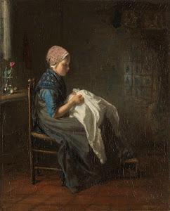 RIJKS: Jozef Israëls: painting 1888