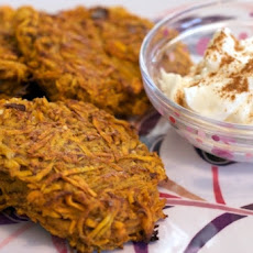 North African Sweet Potato Pancakes