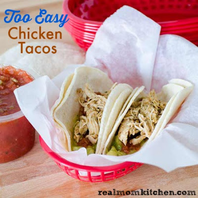 Too Easy Chicken Tacos