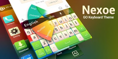 Screenshot of GO Keyboard Nexoe Theme