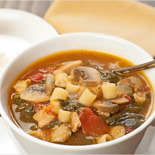Peasant-Style Chicken and Pasta Soup