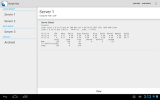 Screenshot of Script Kitty Pro License