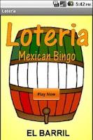 Screenshot of Loteria Mobile Deck