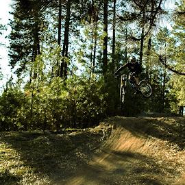 Gettin Sideways by Dimitri Rebich - Sports & Fitness Cycling