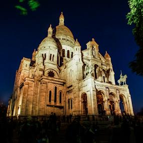 Sacré-Cœur, Paris by Nesrine el Khatib - Buildings & Architecture Statues & Monuments (  )