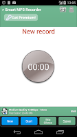 Screenshot of Smart MP3 Recorder