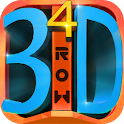4 IN A 3D ROW icon