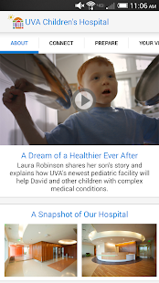 UVA Children's Hospital - screenshot